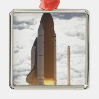 Space Shuttle Atlantis lifts off 16 Christmas Ornament