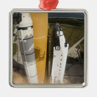 Space Shuttle Atlantis lifts off 17 Christmas Ornament