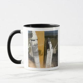 Space Shuttle Atlantis lifts off 17 Mug