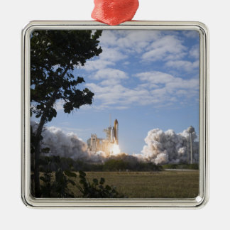 Space Shuttle Atlantis lifts off 18 Christmas Ornament