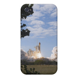 Space Shuttle Atlantis lifts off 18 iPhone 4 Case