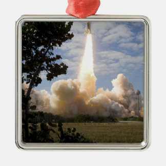 Space Shuttle Atlantis lifts off 19 Christmas Ornament