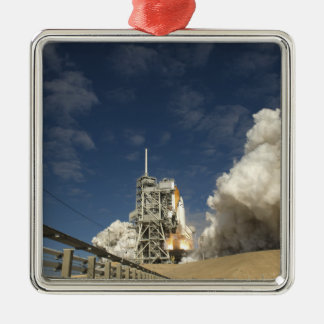 Space Shuttle Atlantis lifts off 20 Christmas Ornament
