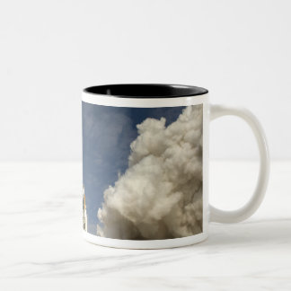 Space Shuttle Atlantis lifts off 20 Two-Tone Coffee Mug