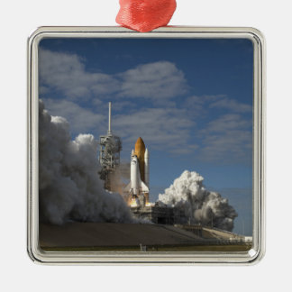 Space Shuttle Atlantis lifts off 23 Christmas Ornament
