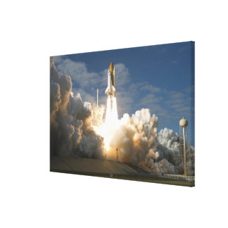 Space Shuttle Atlantis lifts off 24 Canvas Print