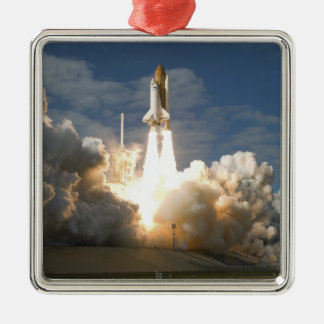 Space Shuttle Atlantis lifts off 24 Christmas Ornament