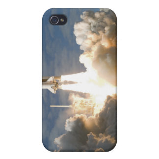 Space Shuttle Atlantis lifts off 24 iPhone 4 Case