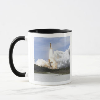 Space Shuttle Atlantis lifts off 28 Mug