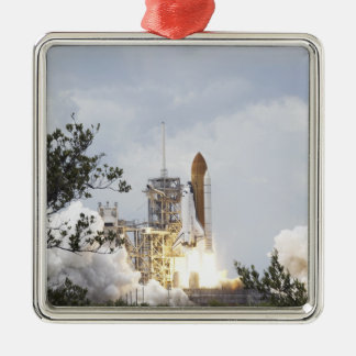 Space Shuttle Atlantis lifts off 3 Christmas Ornament