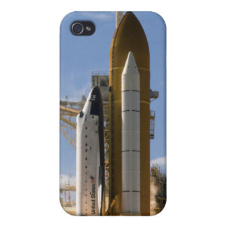 Space Shuttle Atlantis lifts off 5 Cover For iPhone 4