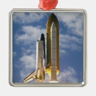 Space Shuttle Atlantis lifts off 6 Christmas Ornament