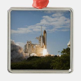 Space Shuttle Atlantis lifts off 7 Christmas Ornament