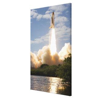 Space Shuttle Atlantis lifts off 8 Canvas Prints