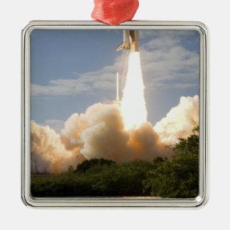 Space Shuttle Atlantis lifts off 8 Christmas Ornament