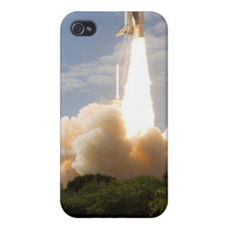 Space Shuttle Atlantis lifts off 8 Cover For iPhone 4