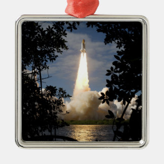 Space Shuttle Atlantis lifts off 9 Christmas Ornament