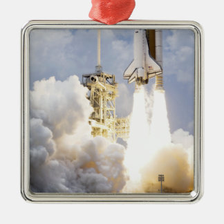 Space Shuttle Atlantis lifts off Christmas Ornament