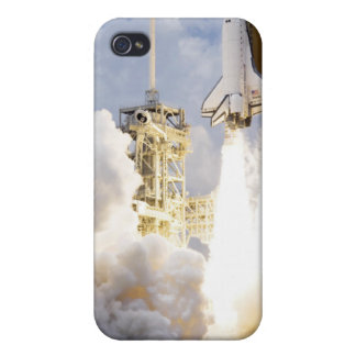 Space Shuttle Atlantis lifts off Cover For iPhone 4