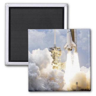 Space Shuttle Atlantis lifts off Magnet