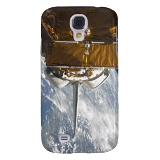 Space Shuttle Atlantis' payload bay backdropped Galaxy S4 Case