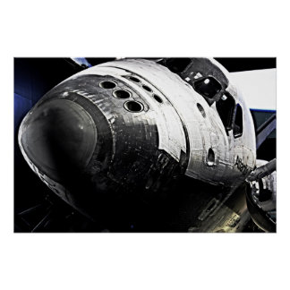 Space Shuttle Atlantis Poster