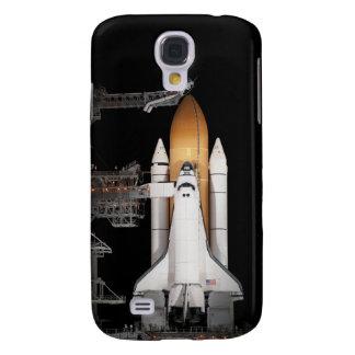 Space shuttle Atlantis sits ready Galaxy S4 Case