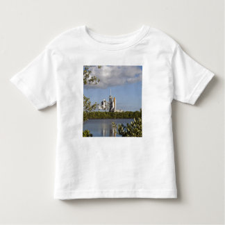 Space Shuttle Atlantis sits ready Toddler T-Shirt