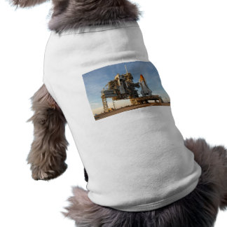 Space Shuttle Atlantis (STS-122) - launch pad Dog T Shirt