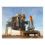 Space Shuttle Atlantis (STS-122) - launch pad Personalised Invitation
