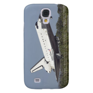 Space shuttle Atlantis touches down on Runway 3 Galaxy S4 Case