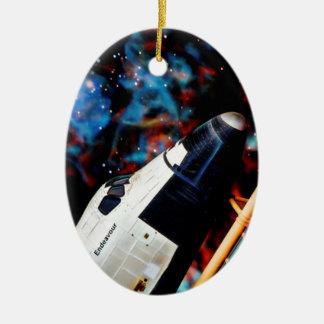 Space Shuttle Christmas Ornament
