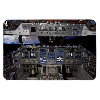 Space Shuttle Cockpit Rectangular Photo Magnet