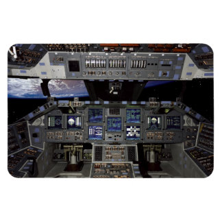 Space Shuttle Cockpit Rectangle Magnets