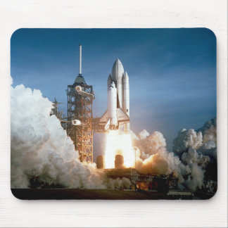 Space Shuttle Columbia Blasts Off Mouse Pads