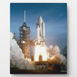Space Shuttle Columbia Launching Plaques