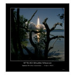 Space Shuttle Columbia Lift-Off Ap... Poster