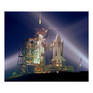 Space Shuttle Columbia STS-1 Posters