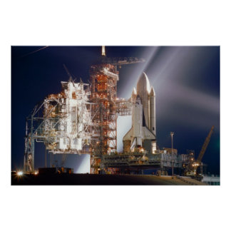 Space Shuttle Columbia (STS-1) Posters