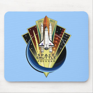 Space Shuttle Commemorative Mousemat