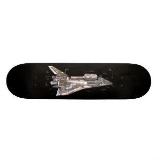 Space Shuttle Cutaway 21.6 Cm Old School Skateboard Deck