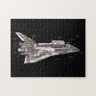 Space Shuttle Cutaway Puzzles