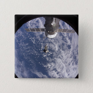Space Shuttle Discovery 11 15 Cm Square Badge