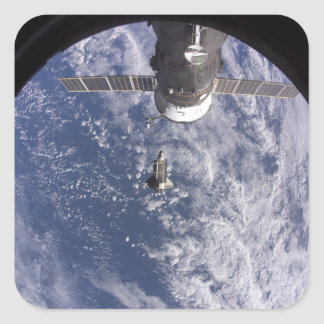 Space Shuttle Discovery 11 Square Sticker