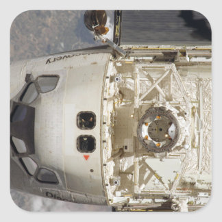 Space Shuttle Discovery 12 Square Sticker