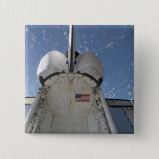 Space Shuttle Discovery 13 15 Cm Square Badge