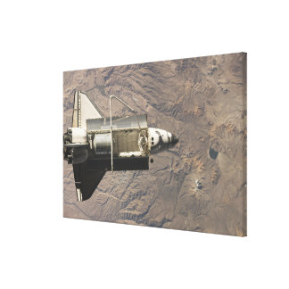 Space Shuttle Discovery 14 Canvas Print