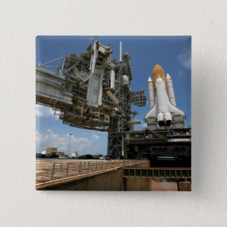 Space Shuttle Discovery 15 Cm Square Badge