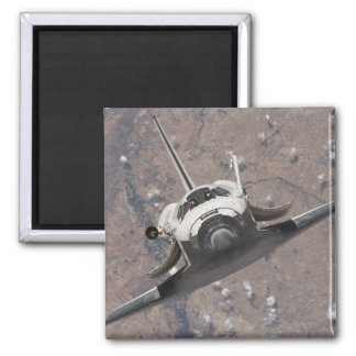 Space Shuttle Discovery 15 Square Magnet