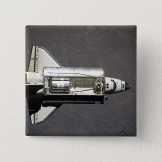 Space Shuttle Discovery 2 15 Cm Square Badge